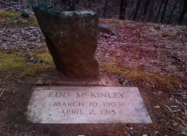 Grave of Edd McKinney