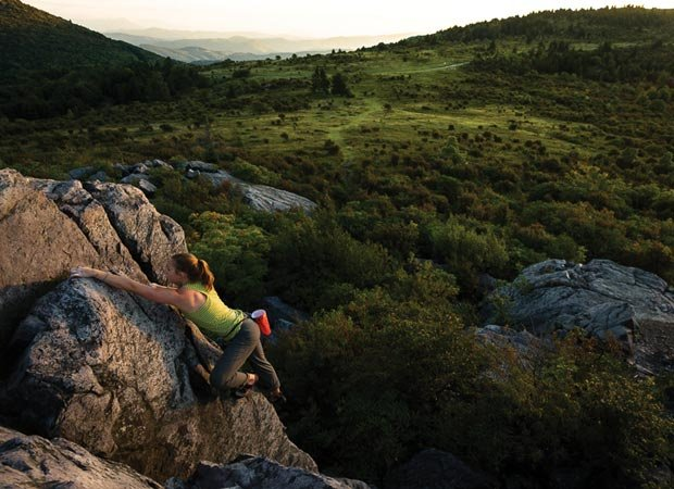 """""""Highland Bouldering"""" by Tommy Penick."""