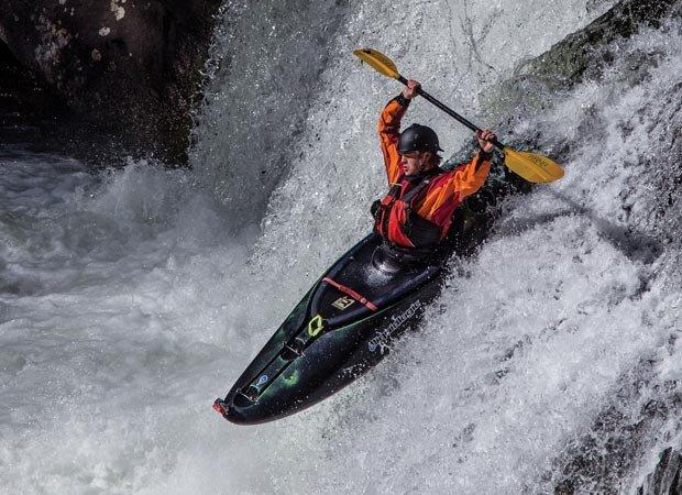 """""""Kayaker"""" by David Vanderlaan."""
