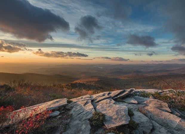 """Morning on the Ridge"" by Robert H. Clark."