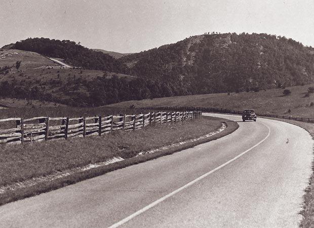 The Blue Ridge Parkway revs up