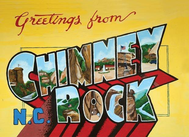 Chimney Rock inspires a lofty plan