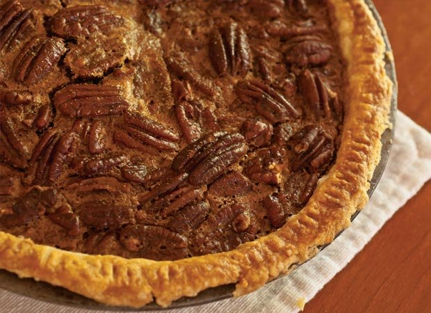 Sorghum and Bourbon Pecan Pie