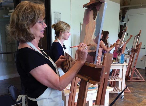 Painting studios