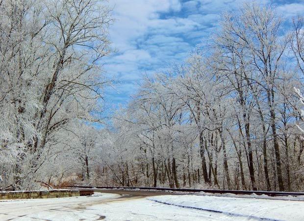 Road may be icy
