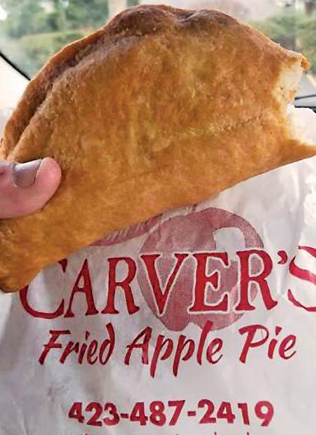 Carver's Fried Apple Pie