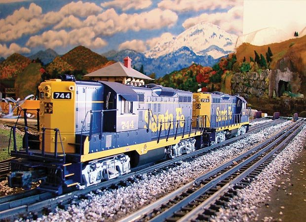 Model railroad 4