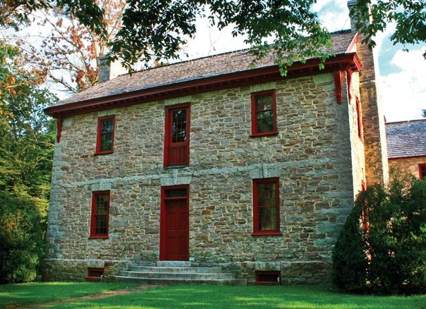 Knox County's first stone home
