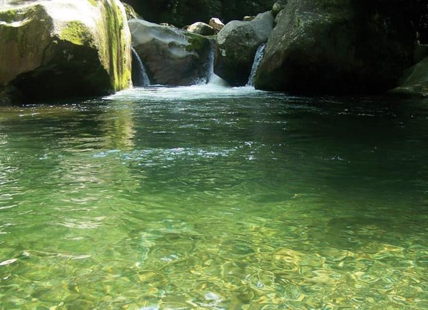 An old-fashioned swimming hole