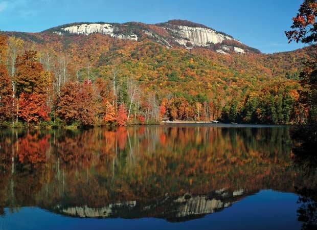 Along the Blue Ridge Escarpment