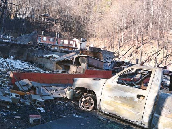 Gatlinburg Fire Aftermath