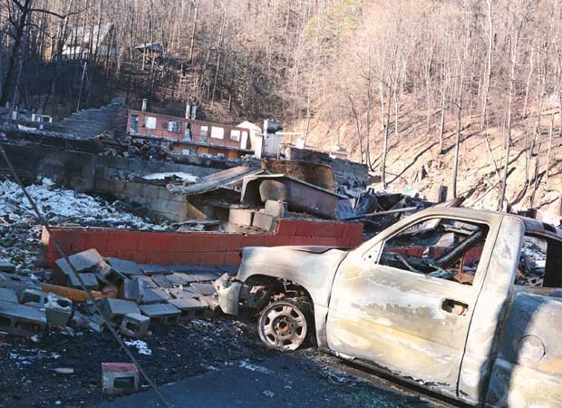 Gatlinburg Fire Aftermath