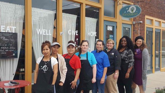 Dandelion Cafe staff