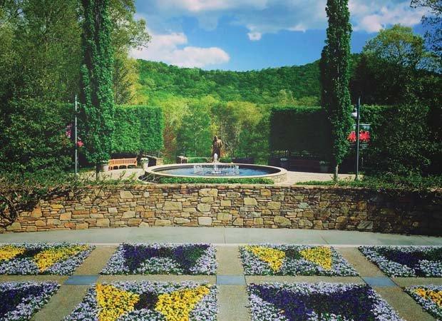 N.C. Arboretum butterfly garden