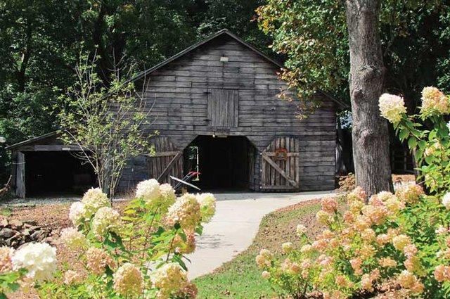 Byron Herbert Reece farm