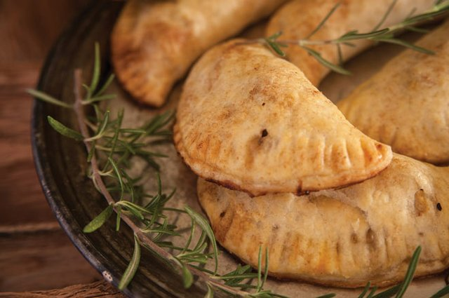 Rosemary and Sage Apple Hand Pies