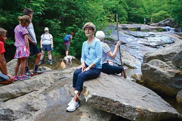 Hiking with Nana