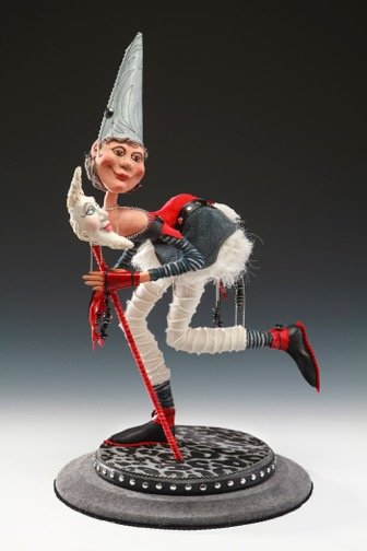 Figurine by Lesley Keeble