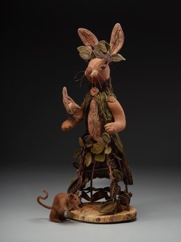 Figurine by Louise Grenell