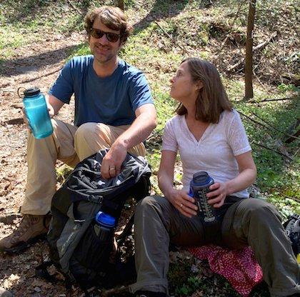 Steve Kemp and Janet Rock