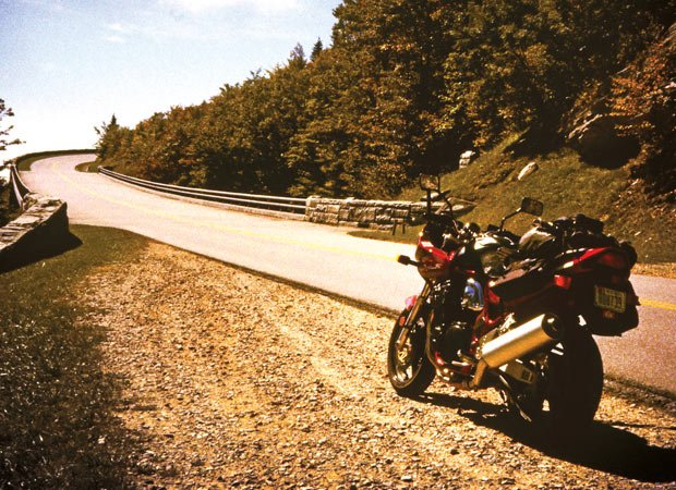 Blue Ridge Parkway on two wheels