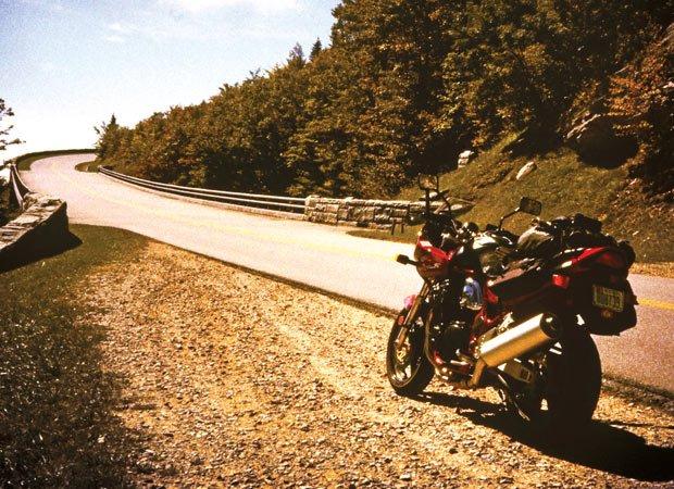 Blue Ridge Parkway on two wheels