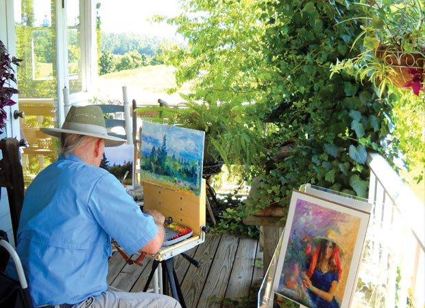 Richard Ensing at Smoky Mountain Heritage Festival, Sevierville, Tenn.