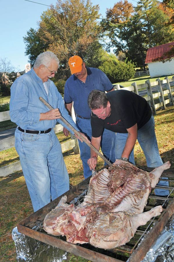 Roasting a Pig and Remembering