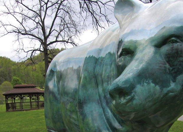 Bears as art