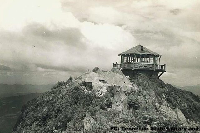 Mount Cammerer fire tower