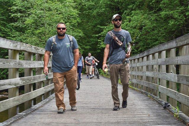 Finding Fun along the Virginia Creeper Trail