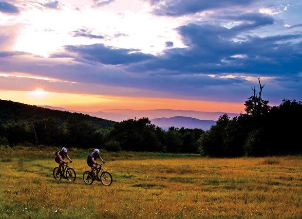 Biking Beech Mountain