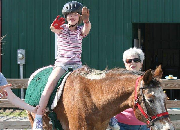 Horseback therapy