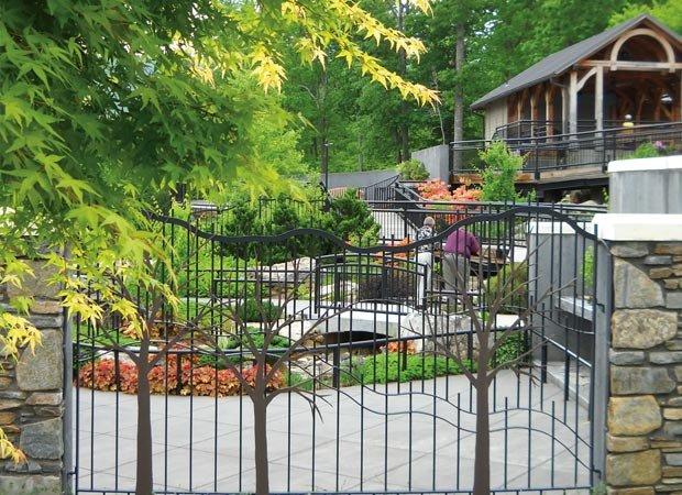 NC Arboretum bonsai garden