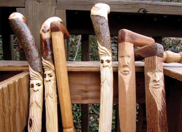 Carving faces