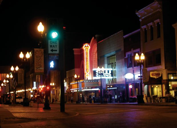 Knoxville's night life
