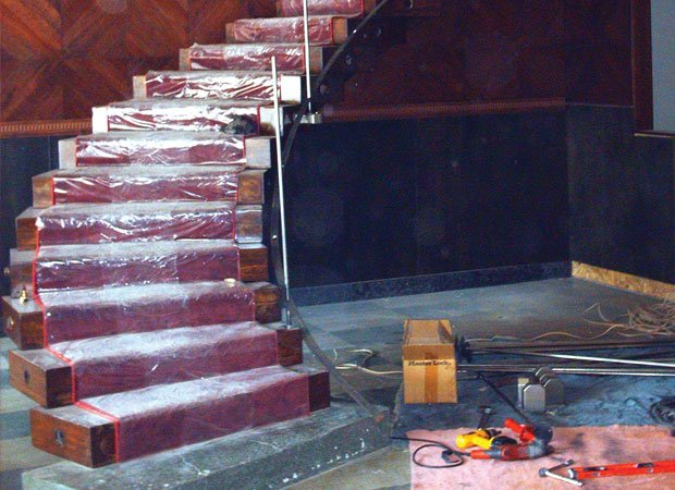 Renovation underway