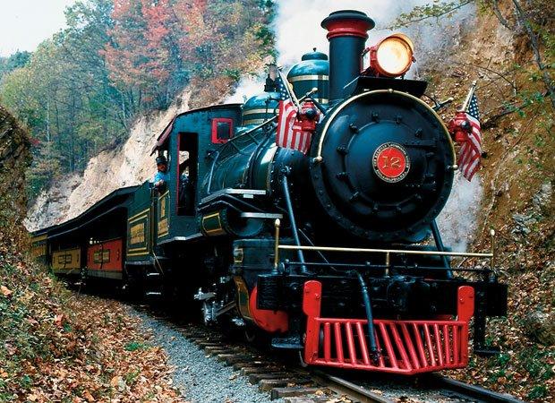 Tweetsie Railroad engine