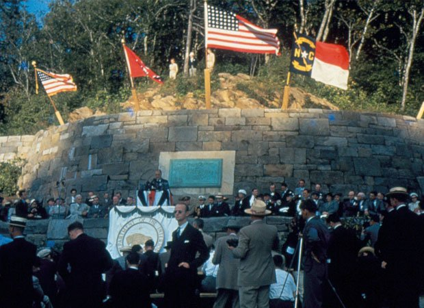 When FDR came to town