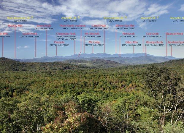 View from Bear Den Overlook