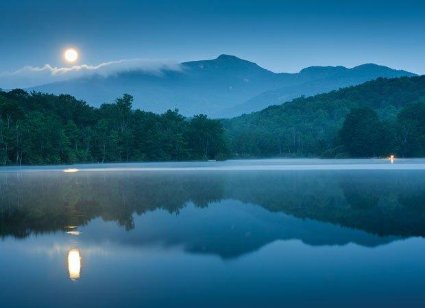 Night on Price Lake